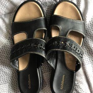Black Croft&Barrow Women's Sandals 8.5